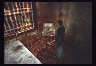 A screenshot from Silent Hill 1